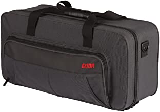 Gator Cases Lightweight Polyfoam Trumpet Case with Mute Storage, Removable Strap, and Rubber Interlocking Carry Handle; (GL-TRUMPET-MUTE)