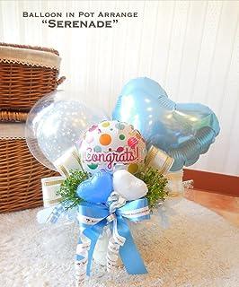 長持ち素材のバルーン★ 卓上アレンジ 〜セレナーデ〜 発表会やお誕生日、開店祝いに 幸せの時間が約2ヶ月楽しめます