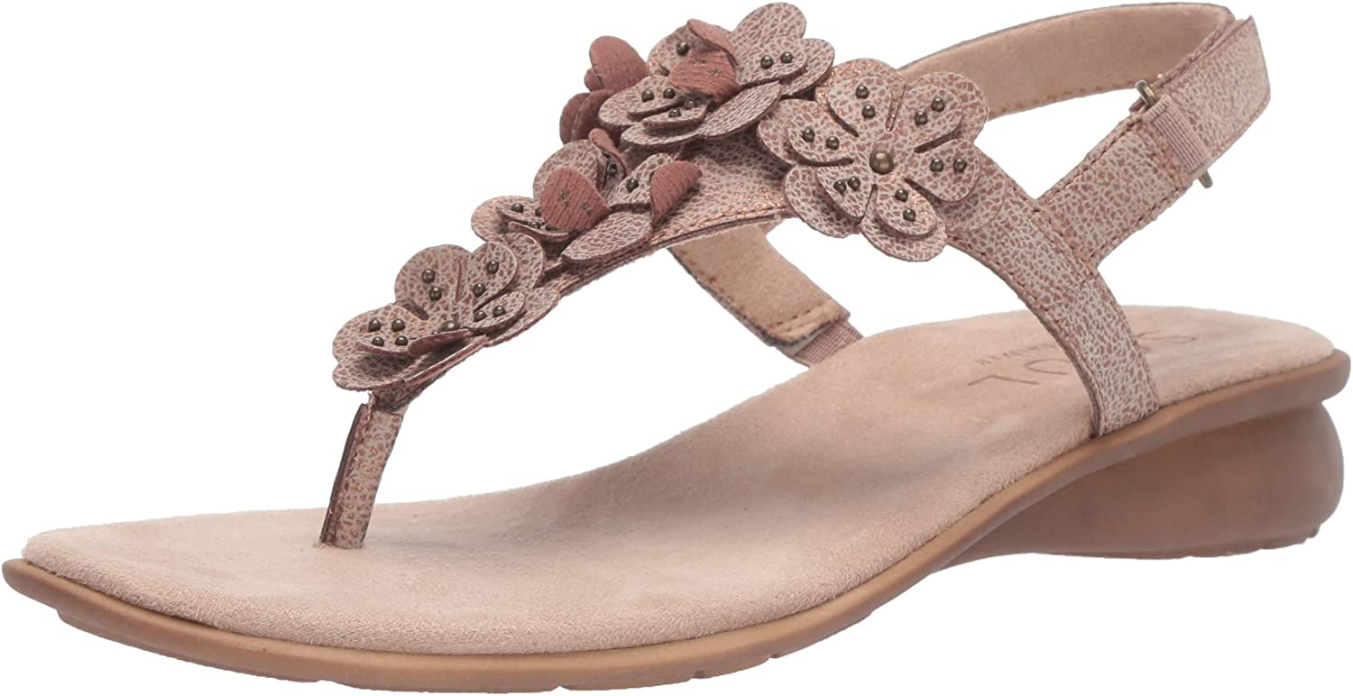 SOUL Naturalizer Womens June Flat Sandal