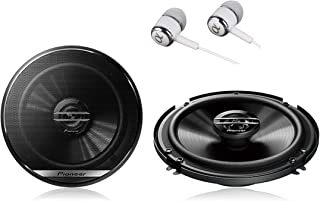 "Pioneer TS-G1620F 600 Watts Max Power 6-1/2"" 2-Way G-Series Coaxial Full Range Car Audio Stereo Speakers"