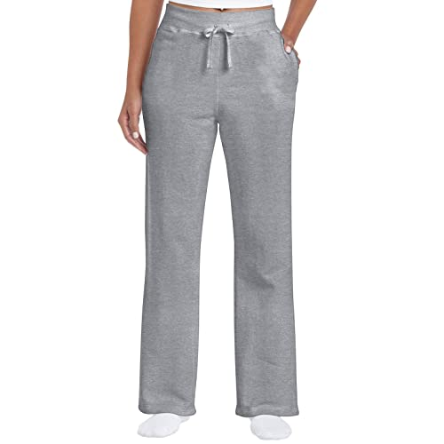f0620ffe Gildan Women's Open Bottom Sweatpants