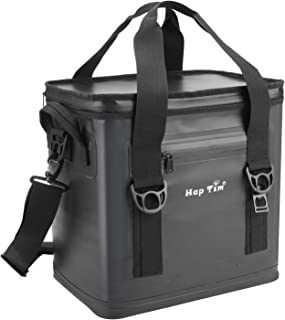 Hap Tim Cooler Bag 30 Cans Leak-Proof Soft Cooler, Portable Ice Cooler for Beach, Hiking, Camping, Picnic, Party, Sports, Sea Fishing (TL52005-DG)