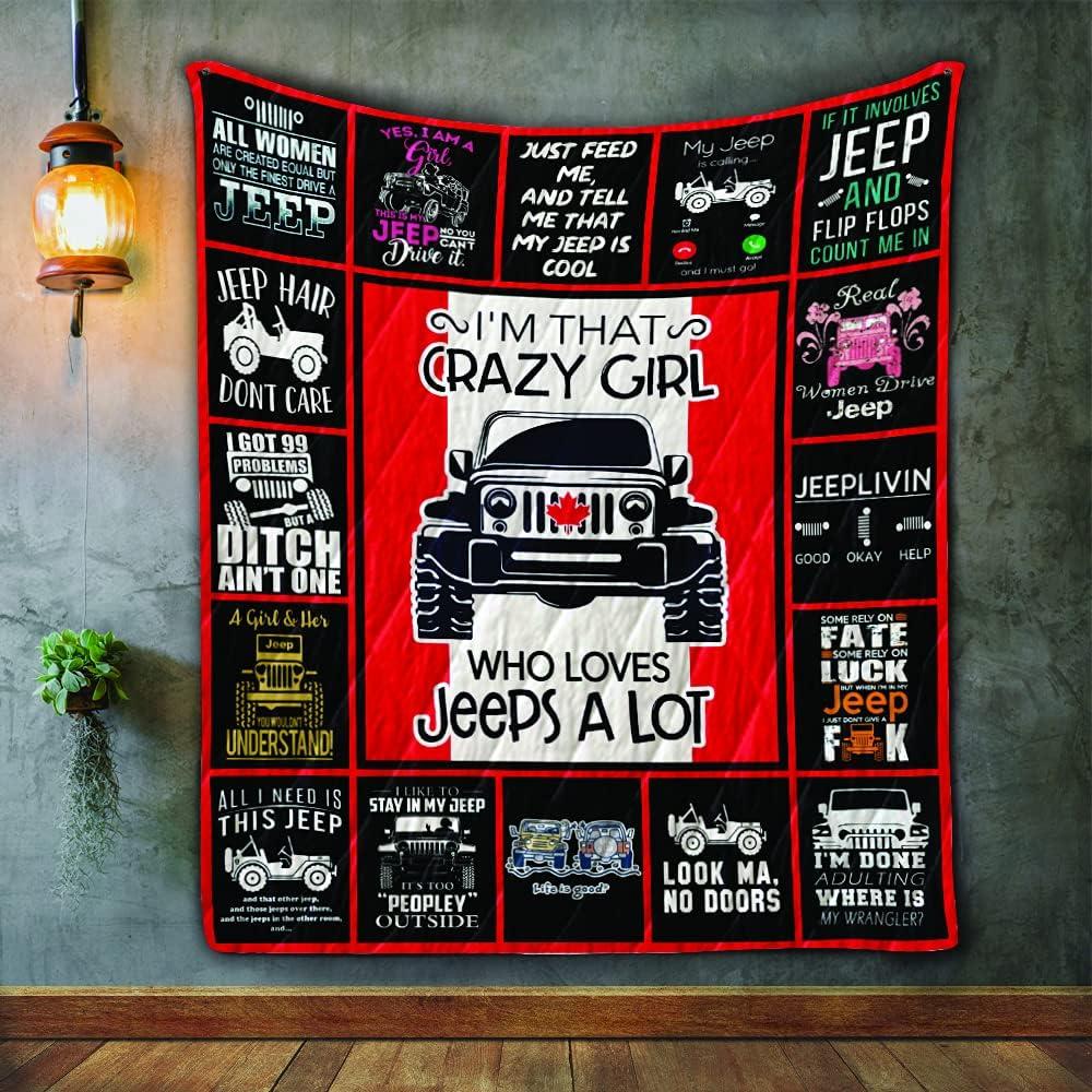 Truck Blanket - Popular product Gift for Boy Quilt 51x59in Custom Elegant