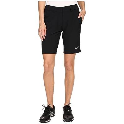 Nike Golf Bermuda Shorts Solid (Black/Metallic Silver) Women