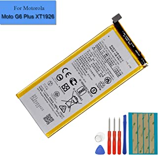 New Replacement Li-Polymer Battery JT40 Compatible with Moto G6 Plus XT1926-6 XT1926-7 3.8V