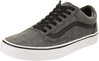 Vans Unisex Old Skool Textile Canvas Trainers