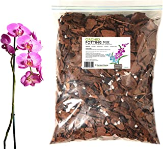 All Natural Orchid Potting Mix by Perfect Plants - 8 Quarts Special Blend for Proper Root Development on All Orchid Plant Types