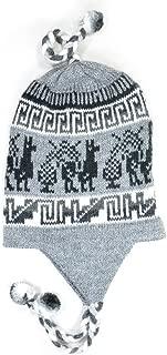Gamboa Warm Alpaca Hat with Earflap and Braids - Llamitas Design