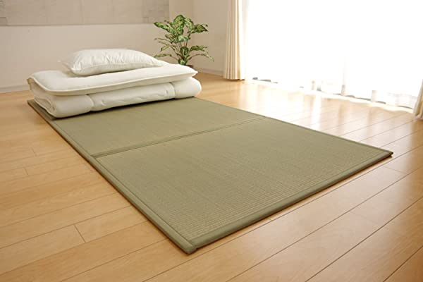 IKEHIKO Japanese Traditional Igusa Rush Grass Tatami Mattress Twin XL Made In Japan