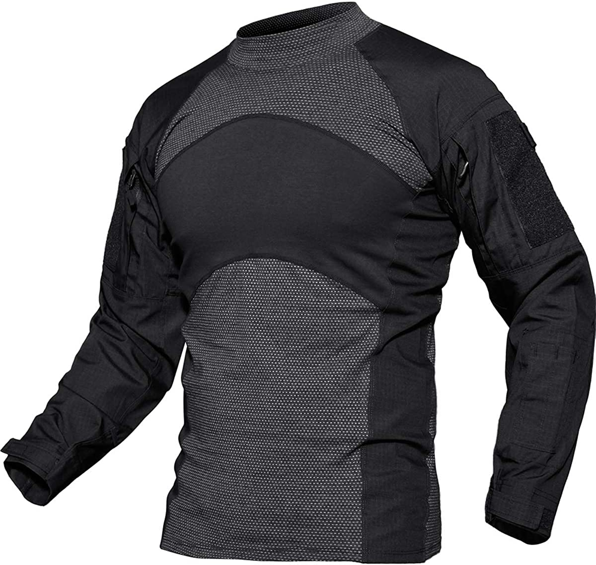 TACVASEN Men's Slim Fit Military Rapid Assault Tactical Shirt Very Japan Maker New popular Mi