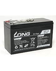 LONG 期待寿命7~10年 12V 7Ah ゲルバッテリー LG7-12 高耐久・長寿命 完全密封型鉛蓄電池 ソーラー発電 ~ UPS まであらゆる電源に最適 蓄電容量84Wh