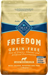 Blue Buffalo Large Breed Freedom Grain Free Chicken Recipe Dry Dog Food