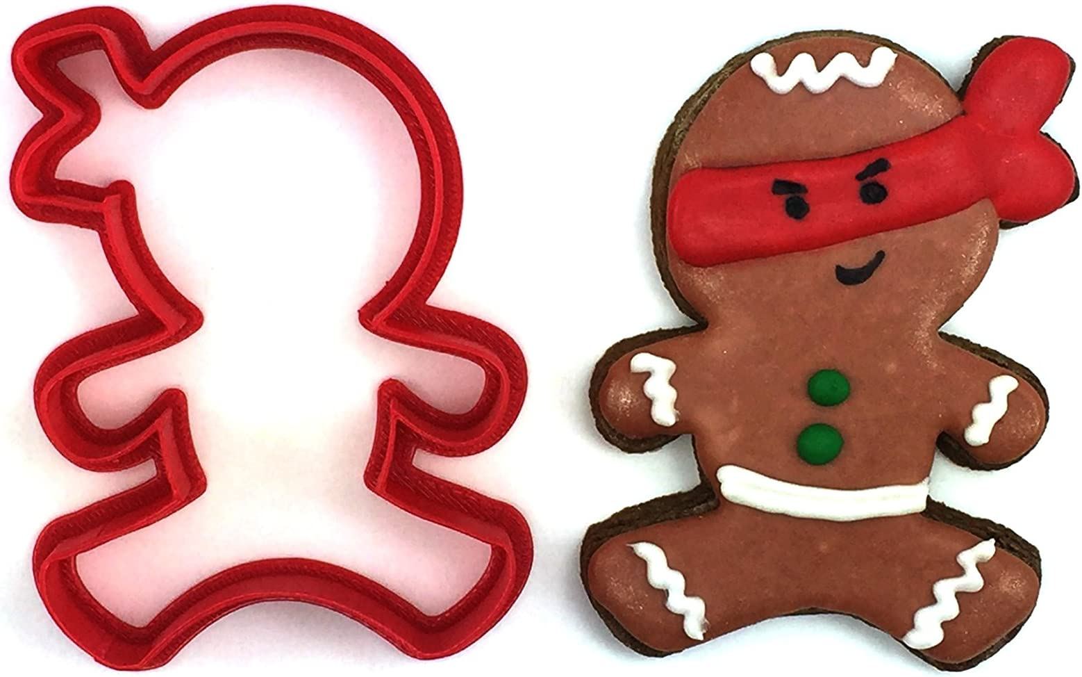 Jumping Jack Cookie Cutter