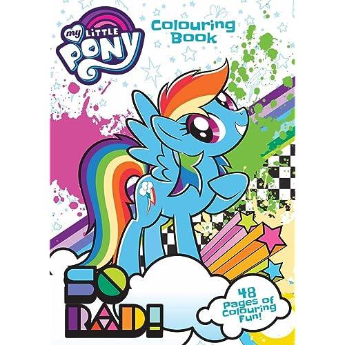 My Little Pony Coloring Book Amazon Co Uk
