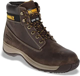 Dewalt Appretice Brown Safety Boot For Unisex, 43 EU