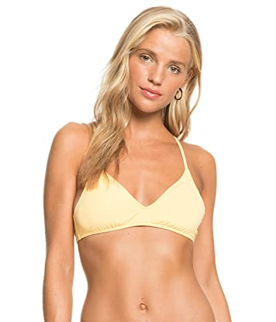 Roxy Solid Beach Classics Ba Athletic Bikini Top