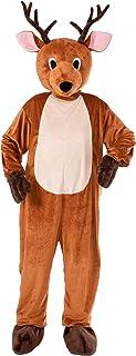 Reindeer Mascot Adult トナカイマスコット大人用♪ハロウィン♪サイズ:Standard One-Size