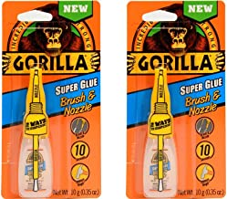 Best gorilla glue super glue brush and nozzle Reviews