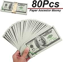 Dollar $10,000 USD ZeeStar 240 Pcs Chinese Joss Paper Ancestor Money Joss Paper Heaven Bank Notes Ghost Money U.S
