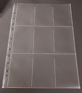 100x A4 Sammelhüllen, Prospekthüllen, Kartenhüllen, 120my