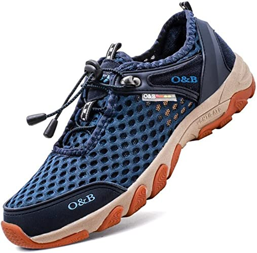 MSFS Hommes Chaussures Engrener De plein air Athlétique Flaneurs Formateurs Poids léger sport Taille 38 à 44