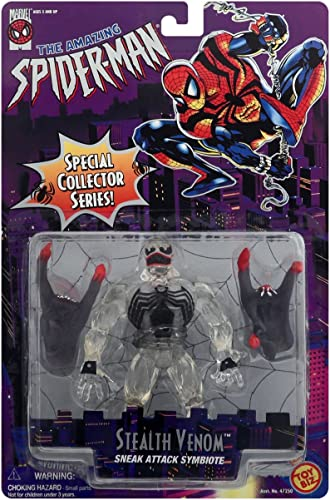 descuentos y mas Stealth Venom Sneak Attack Symbiote Symbiote Symbiote Transparent Variant Action Figure from The Amazing Spider-Man Animated Special Collector Series  ahorra hasta un 70%