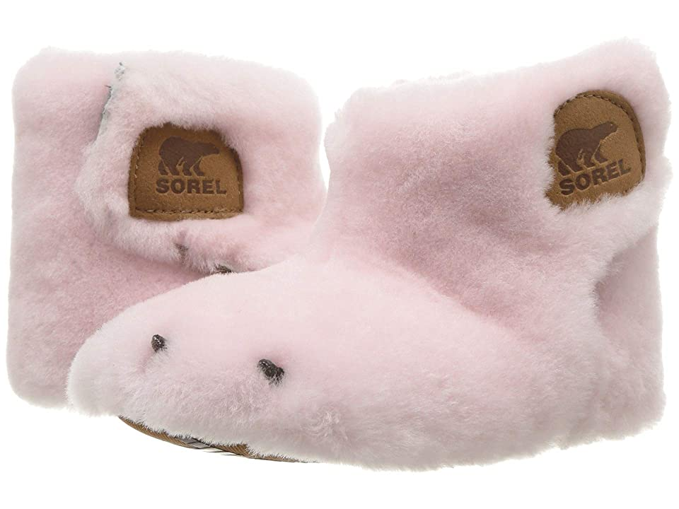 SOREL Kids Bear Paw Slipper (Toddler/Little Kid) (Dusty Pink/Elk) Girls Shoes