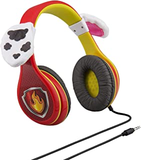 Paw Patrol Marshall Headphones for Kids with Built in Volume Limiting Feature for Kid Friendly Safe Listening