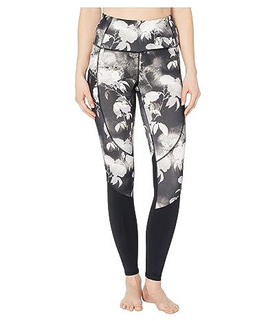 SKECHERS Ink Floral Printed High-Waist Leggings (Black/Multi) Women
