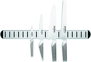 Global Magnetic Knife Rack Set, Stainless Steel