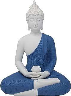 white porcelain buddha