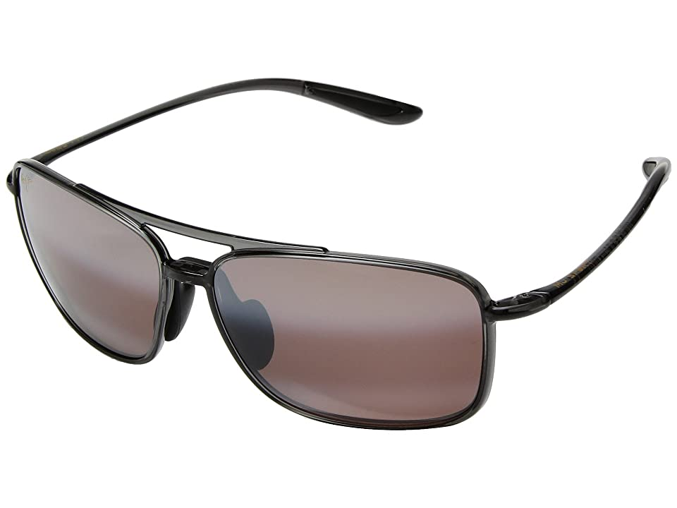 Maui Jim Kaupo Gap (Translucent Smoke Grey/Maui Rose) Athletic Performance Sport Sunglasses
