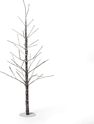 Christopher Knight Home 313673 LED Tree, Brown + Snow