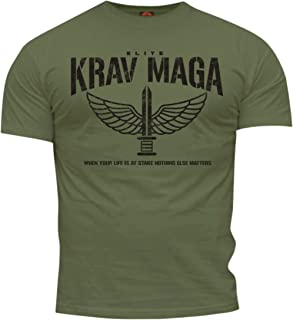 Dirty Ray Martial Arts Krav MAGA Elite Men's T-Shirt DT35