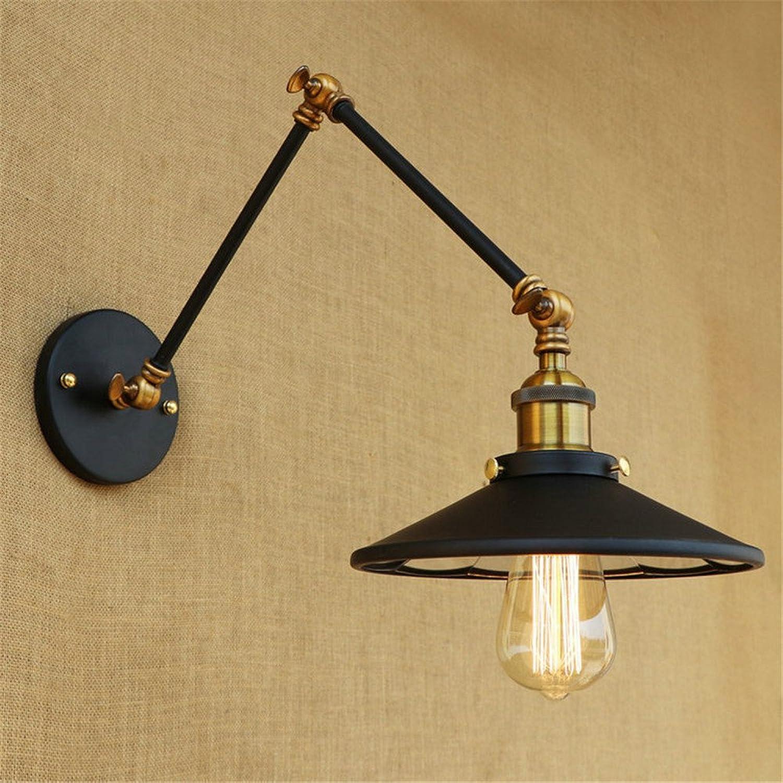Amadoierly Vintage wandleuchte einstellbar mit objektiv persnlichkeit Eisen beleuchtung esszimmer nacht dekorative wandleuchte, Arm l¤nge 20 cm + 20 cm