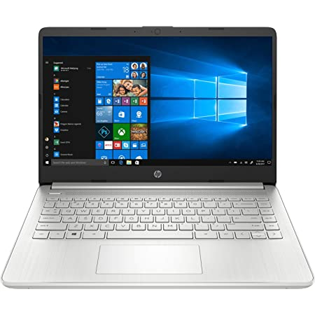 HP 14 (2021) 11th Gen Intel Core i3 Laptop with Alexa Built-in, 8GB RAM, 256GB SSD, 14-Inch (35.6 cm) FHD Screen, Windows 10, MS Office, (14s- dy2501tu)
