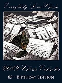 2019 Calendar Everybody Loves Chessie