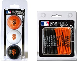 TEAM GOLF MLB Logo Imprinted Golf Balls (3 Count) & 2-3/4