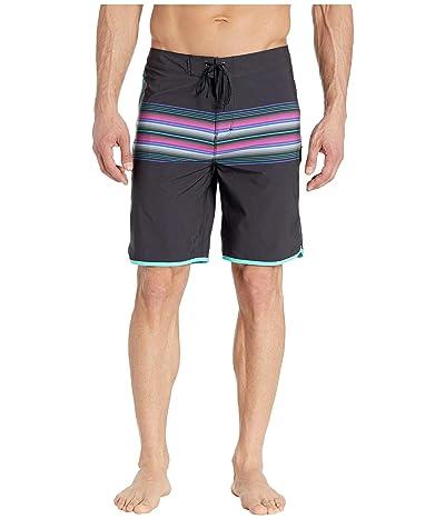 Hurley 20 Phantom Baja Malibu Boardshorts (Black) Men