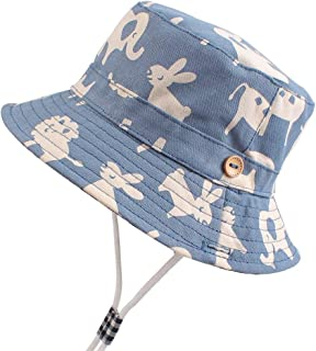 Baby Hats for Boy Girl Sun Protection Adorable Toddler Hat Beach Caps 0-24 Months