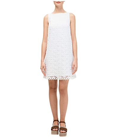 Kate Spade New York Leaf Lace Shift Dress (Black) Women