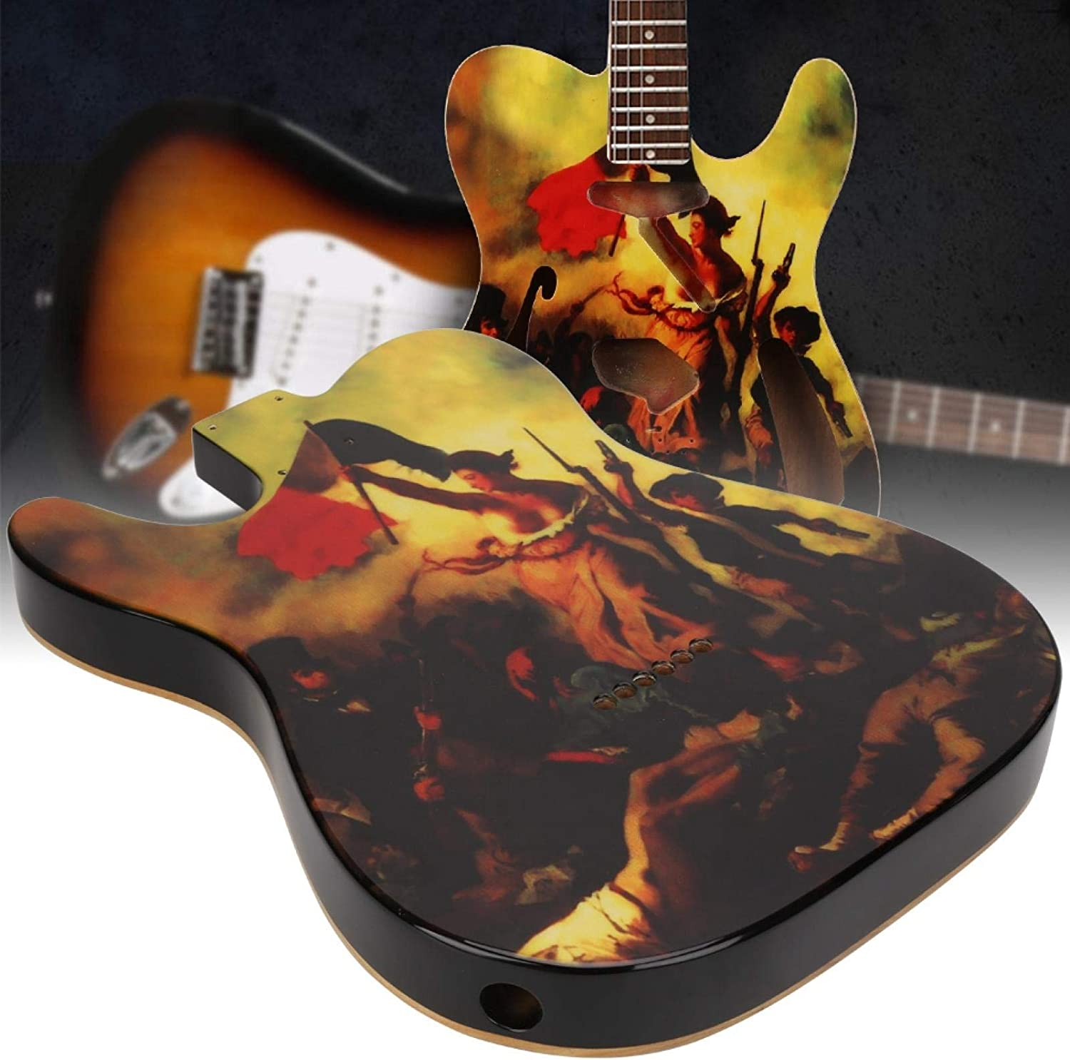 Cerlingwee DIY Max 52% OFF Guitar Free shipping Not Easy Damage Electric Parts to
