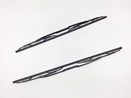 5.35mm Width E31 E32 E34 E38 E39 2 Genuine BMW Wiper Blade Rubber Insert Refill 639mm Length
