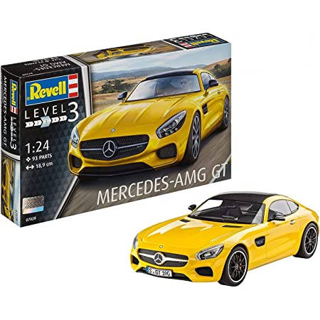 ドイツレベル 1/24 メルセデス AMG GT プラモデル 07028