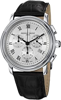 Frederique Constant - FC-292MC4P6 - Reloj de Pulsera Hombre, Piel, Color Negro
