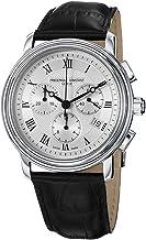 Frederique Constant FC-292MC4P6 - Reloj de Pulsera Hombre, Piel, Color Negro