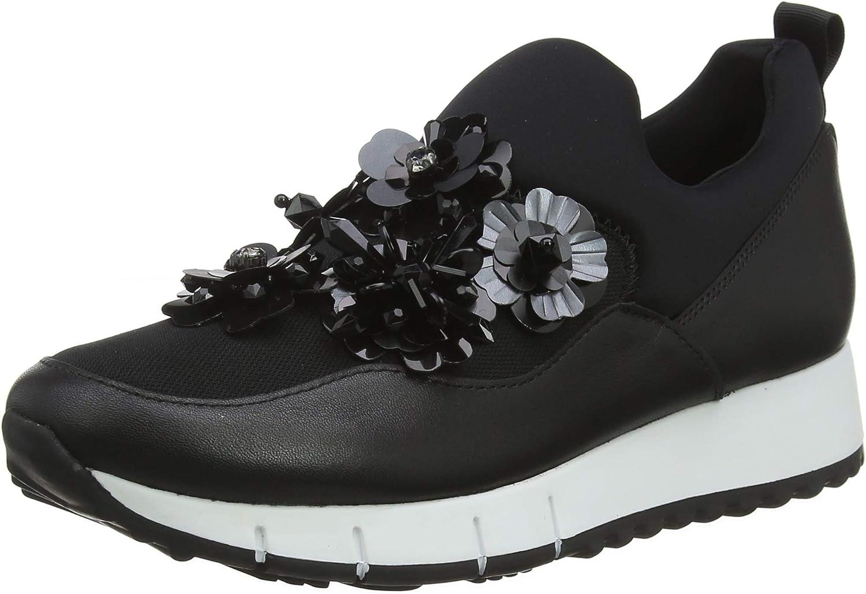 Liu Jo shoes Women's Gigi 03 - Elastic Sock Black Low-Top Sneakers, 22222 2 UK