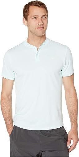 ff7c2179 Nike mens dri fit uv core tennis polo shirt neptune blue neptune ...