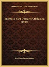 En Brist I Vara Domares Utbildning (1903)