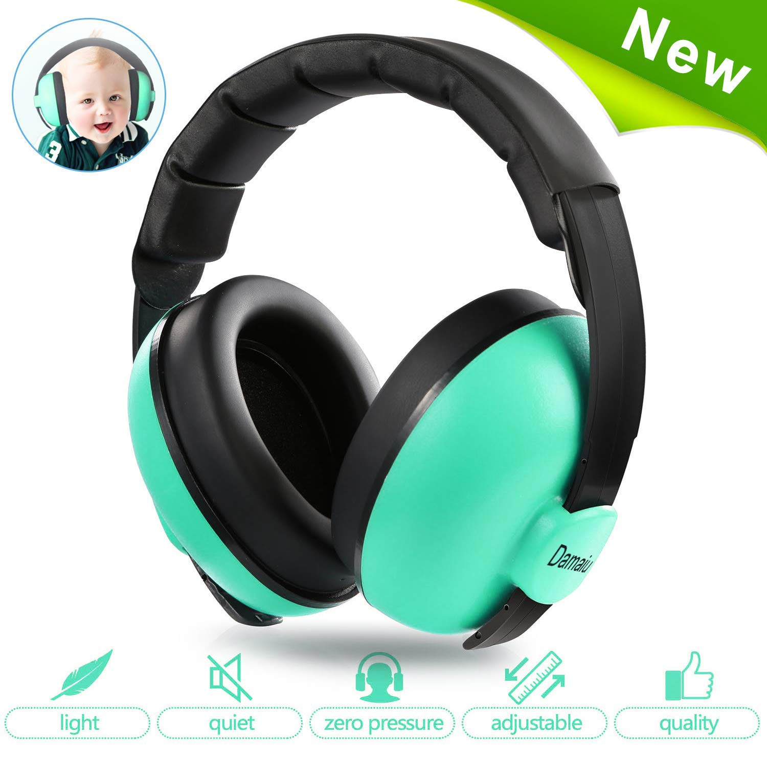 Protection Cancelling Headphones Toddlers Fireworks
